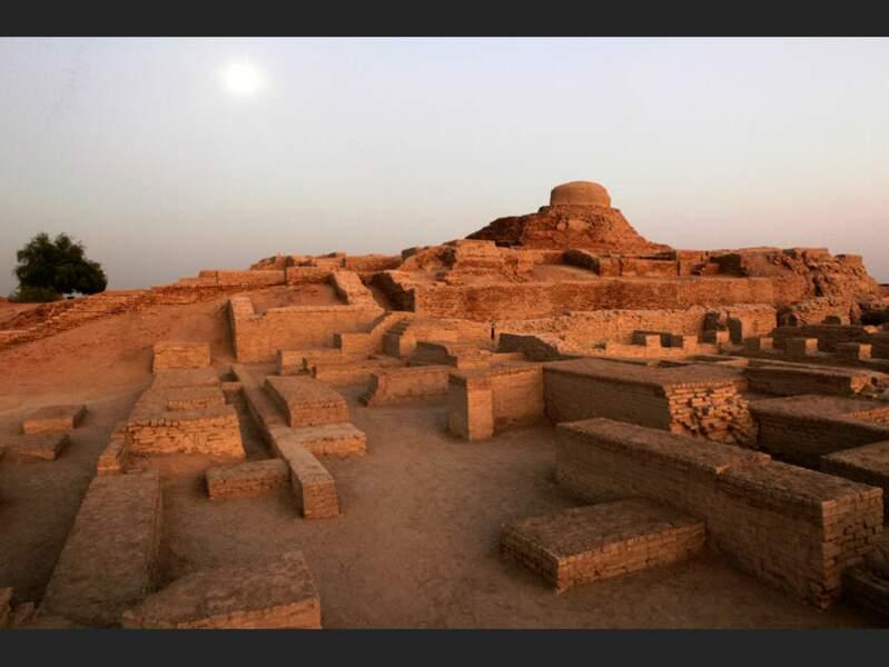 La ville haute de Mohenjo-Daro, au Pakistan
