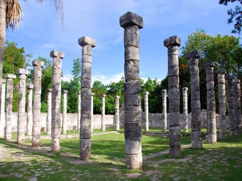 El Mercato sur le site de Chichén Itzá dans le Yucatán, au Mexique