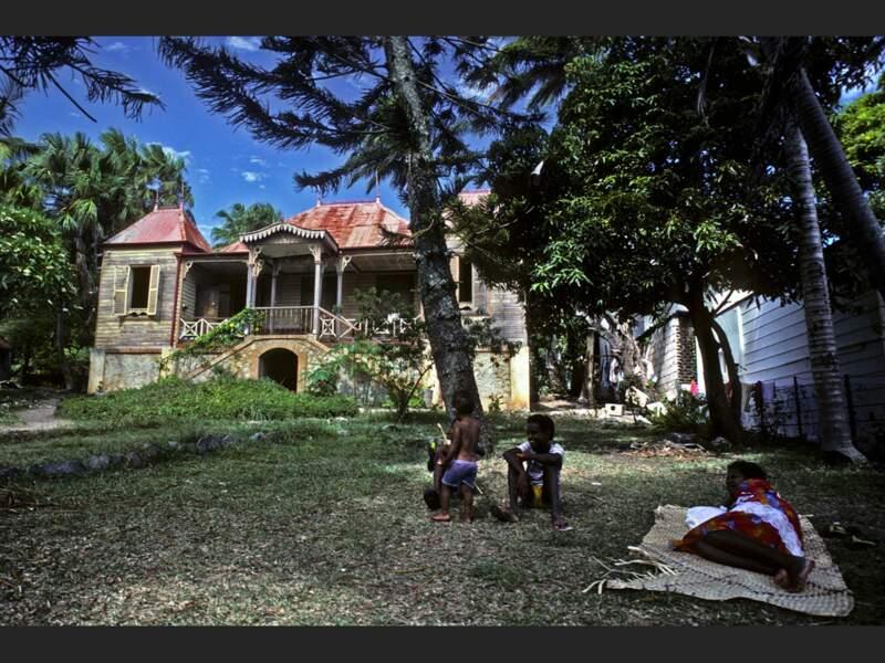 Maison coloniale à Nouméa, en Nouvelle-Calédonie.