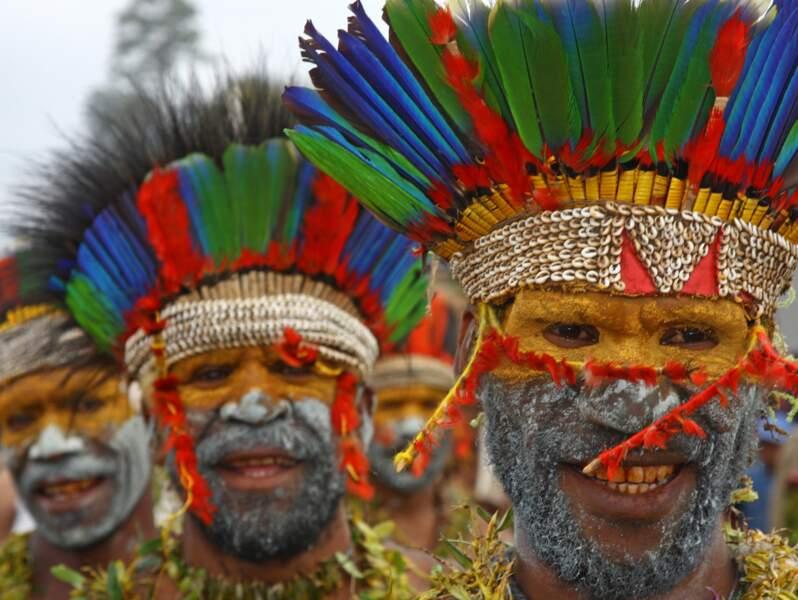 Supia Merege à Goroka, Papouasie-Nouvelle-Guinée