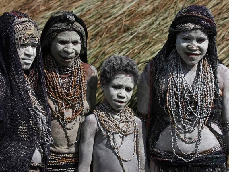 Veuves Mindima à Mount Hagen, Papouasie-Nouvelle-Guinée