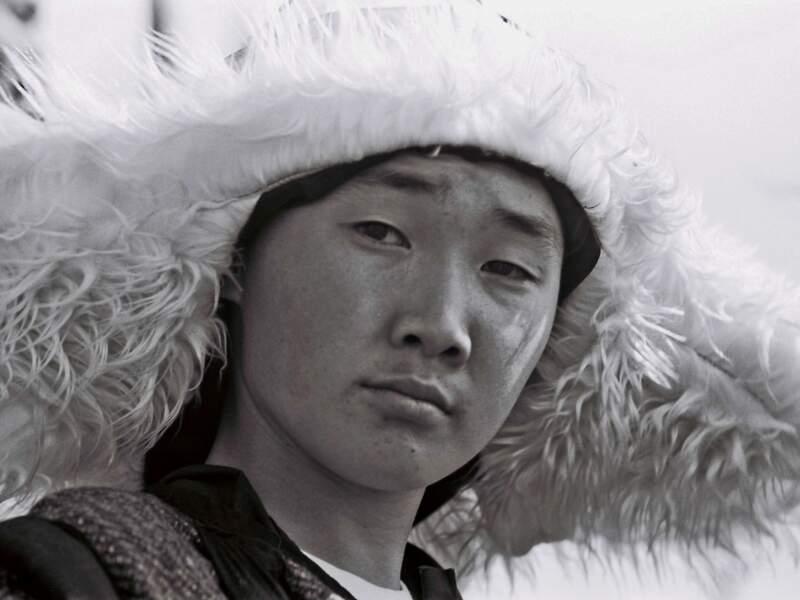 Le guerrier est prêt pour la bataille (République de Sakha, Sibérie, Russie).