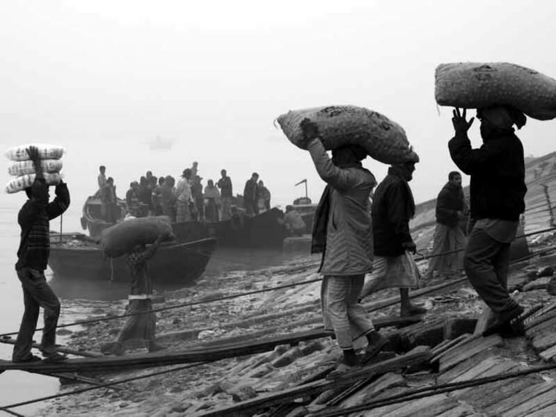 Khulna est la troisième ville portuaire du Bangladesh.