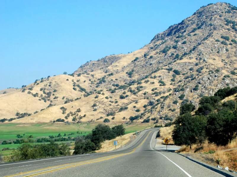 Les autoroutes californiennes sont gratuites et très agréables à utiliser.