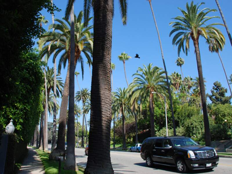 Berverly Hills est le quartier le plus huppé de Los Angeles