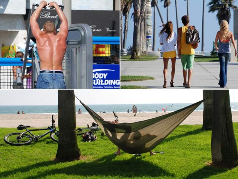 Venice Beach est l'endroit où il faut voir et être vu