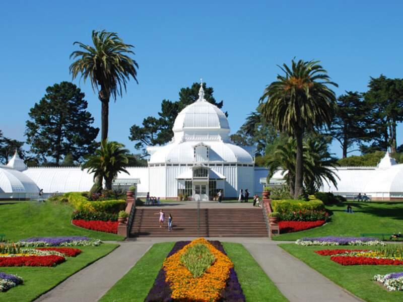 Le Golden Gate park relie Haight Asbury à l'océan