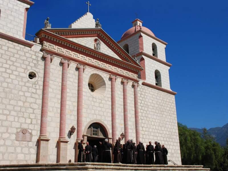 La mission de Santa Barbara est la seule à être toujours restée en activité depuis sa fondation