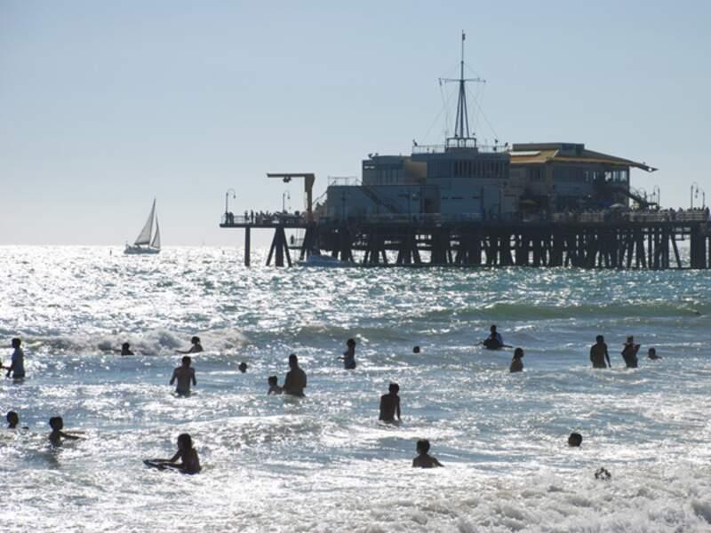 Le Santa Monica Pier est très apprécié des Angelenos comme des touristes