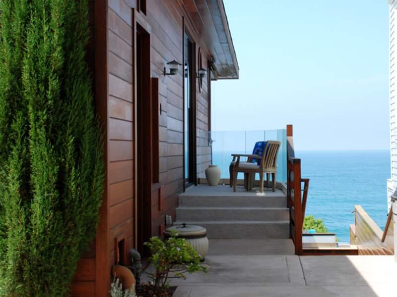 La plage de Malibu abrite les résidences de riches personnes du show business
