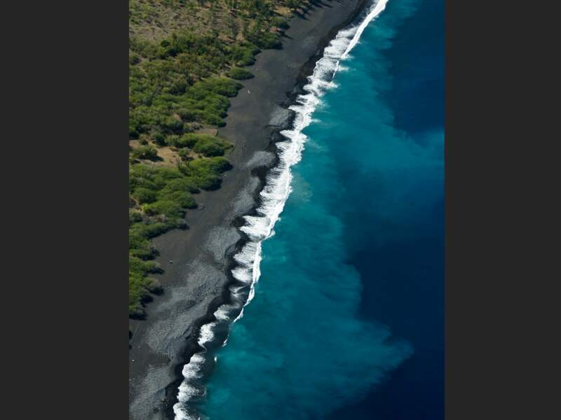 La baie de Saint-Paul sur l'île de La Réunion