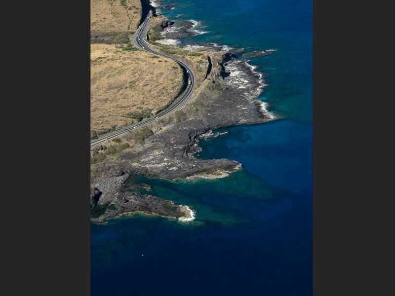 Le cap de La Houssaye sur l'île de La Réunion