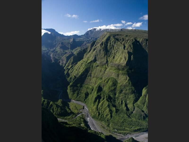 Le cirque de Mafate sur l'île de La Réunion