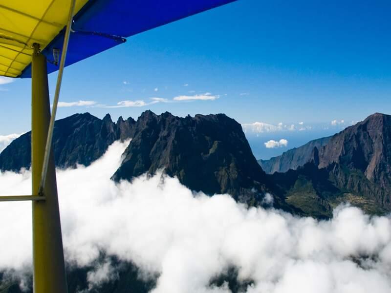 Le piton des Neiges sur l'île de La Réunion