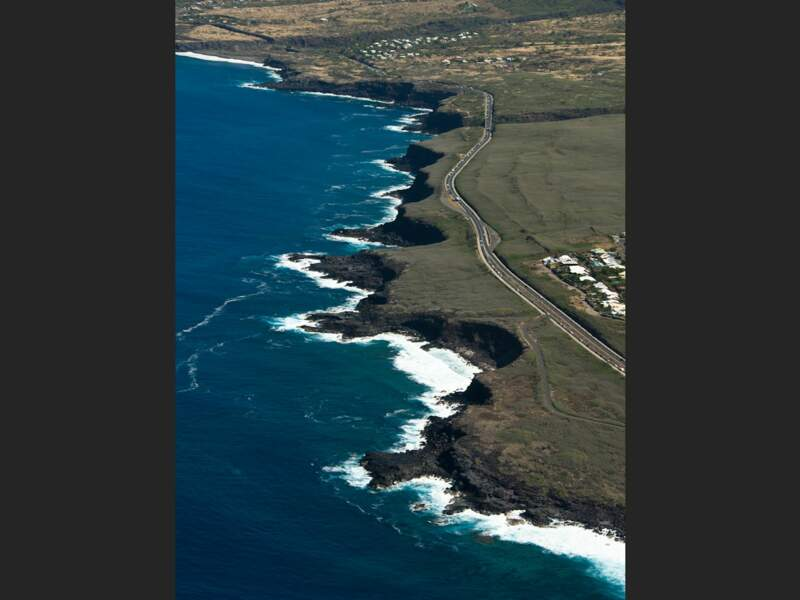 La pointe des Châteaux sur l'île de La Réunion
