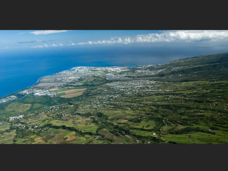 L'embouchure de la rivière des Galets au niveau du Port, sur l'île de La Réunion
