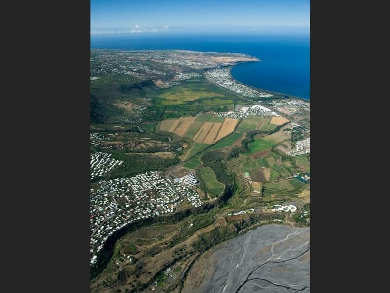 La commune de Saint-Paul sur l'île de La Réunion