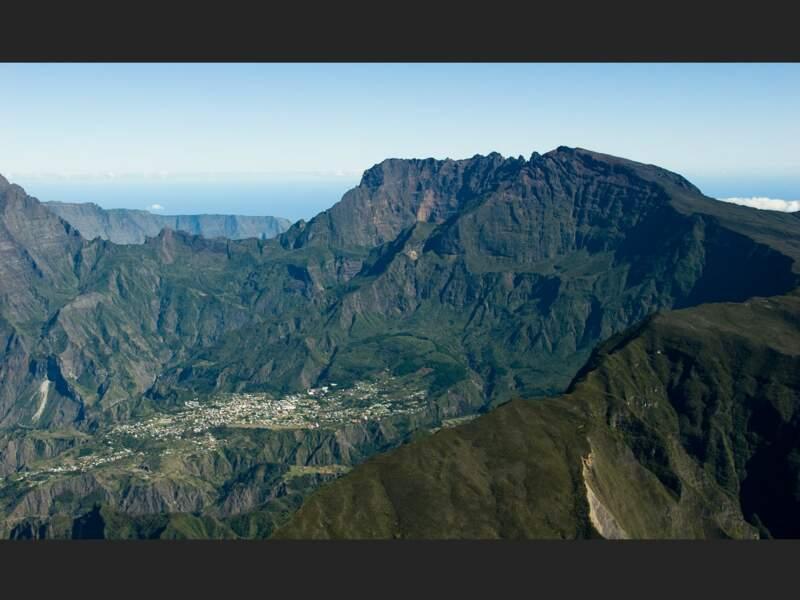 Le village de Cilaos sur l'île de La Réunion