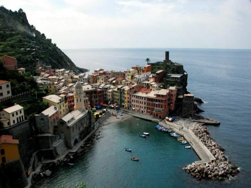 Port de Vernazza, Cinqueterre, Italie