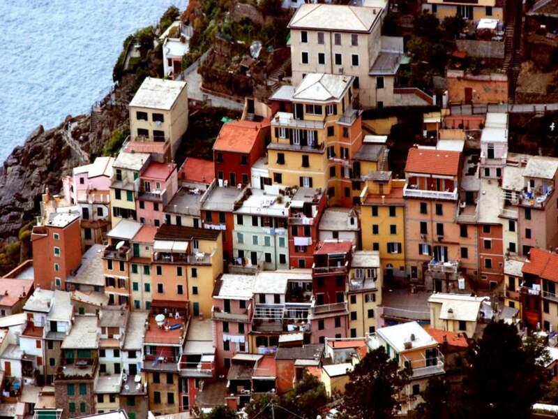 Riomaggiore, à Cinqueterre, Italie