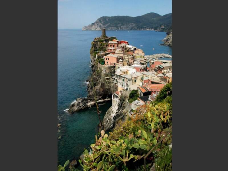 Village équilibriste à Cinqueterre, Italie
