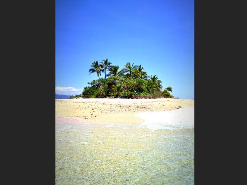 L'îlot Tiendé sur la côte est de Grande Terre, en Nouvelle-Calédonie