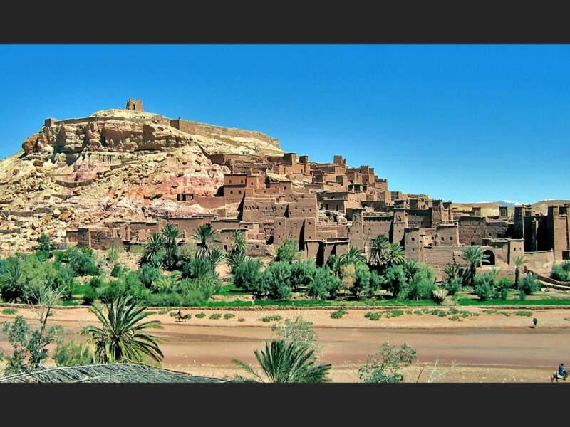 Le ksar Aït-Ben-Haddou dans la province de Ouarzazate, au Maroc