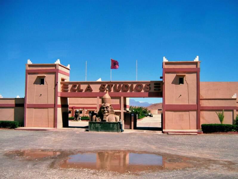 Les studios de cinéma de Ouarzazate, au Maroc