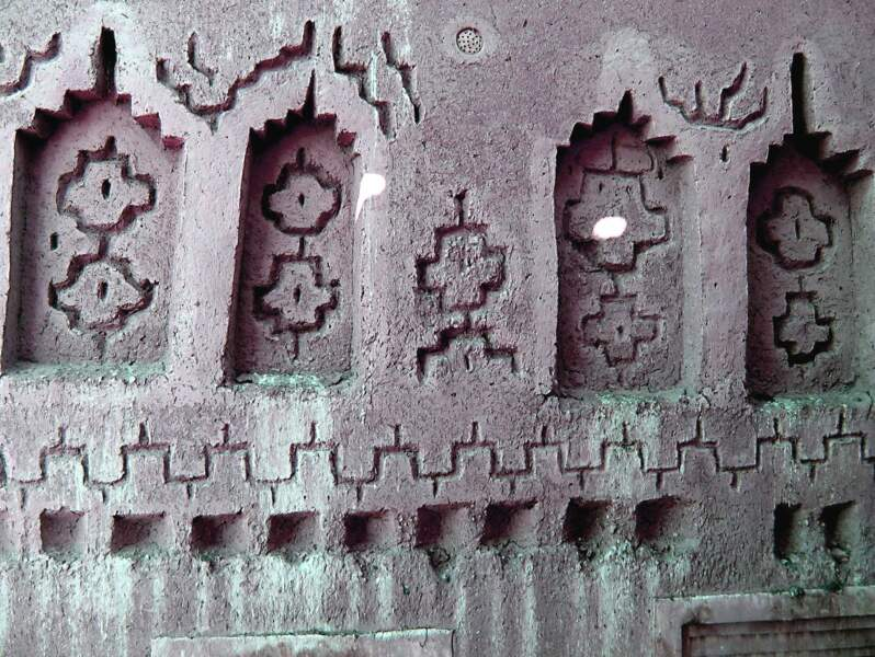 La kasbah de Taourirt, dans la région de Ouarzazate au Maroc