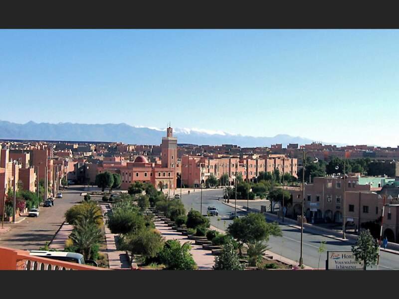 La ville de Ouarzazate, au Maroc