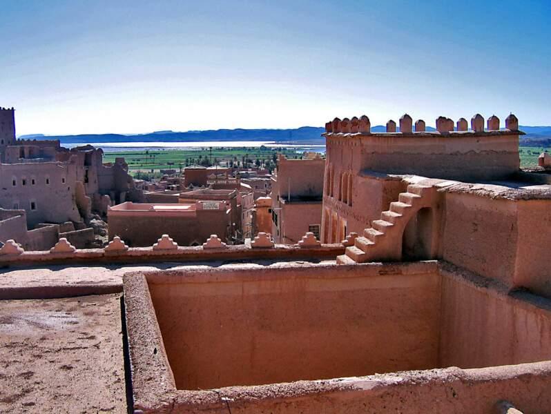 Le barrage El Mensour Eddahbi, dans la région de Ouarzazate au Maroc