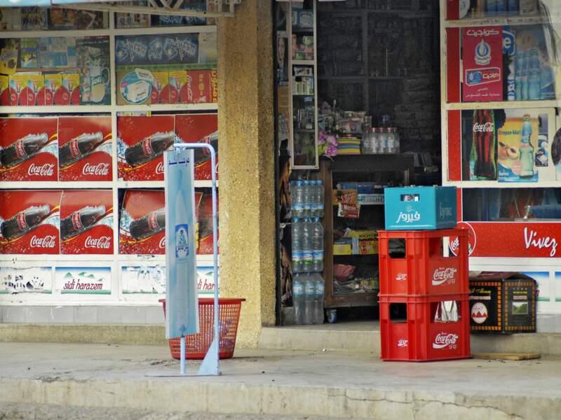 La boutique du coin à Agadir