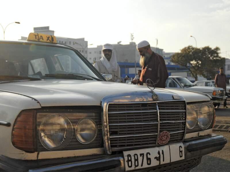 Les grands taxi d'Agadir