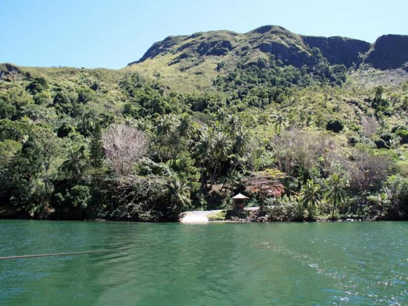Le bac de la Ouaième sur Grande Terre, en Nouvelle-Calédonie
