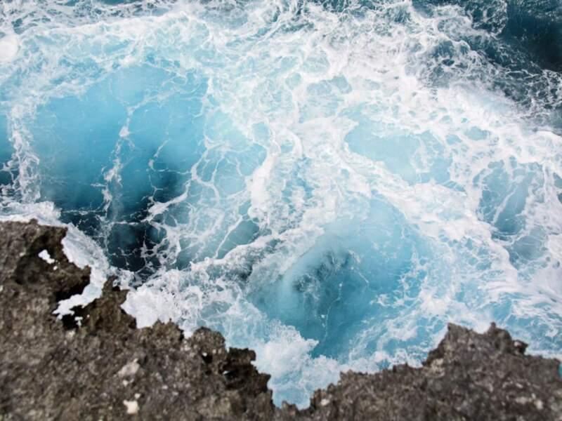 La côte de Xodre sur l'île de Lifou, en Nouvelle-Calédonie