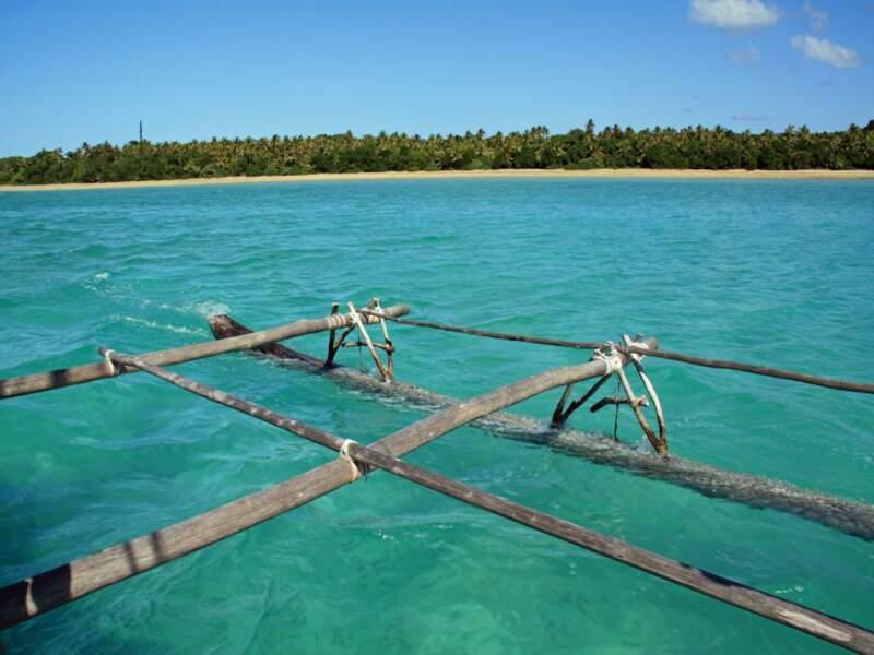 La baie d'Upi sur l'île des Pins, en Nouvelle-Calédonie