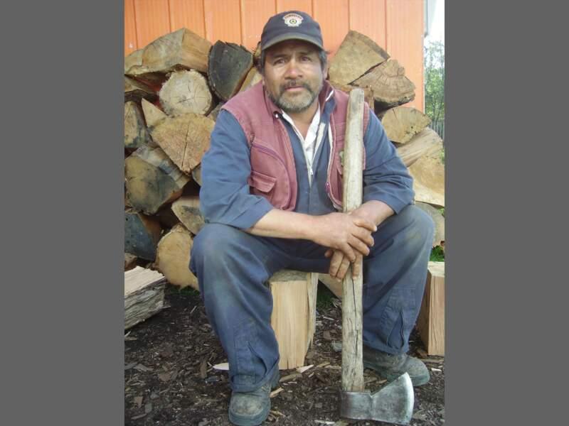 Patricio, un descendant des Indiens Yamanas.