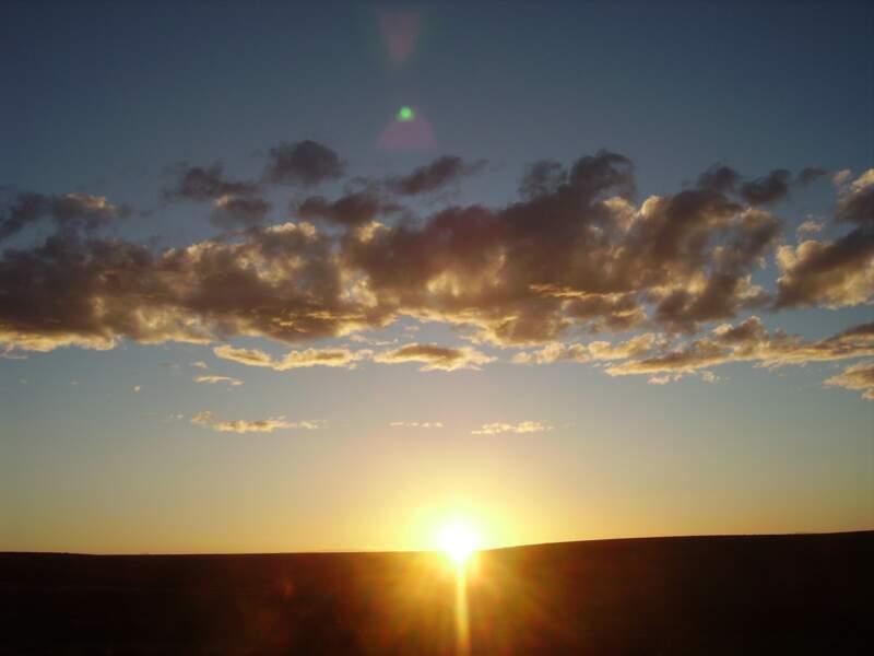 Instants magiques au coucher du soleil.