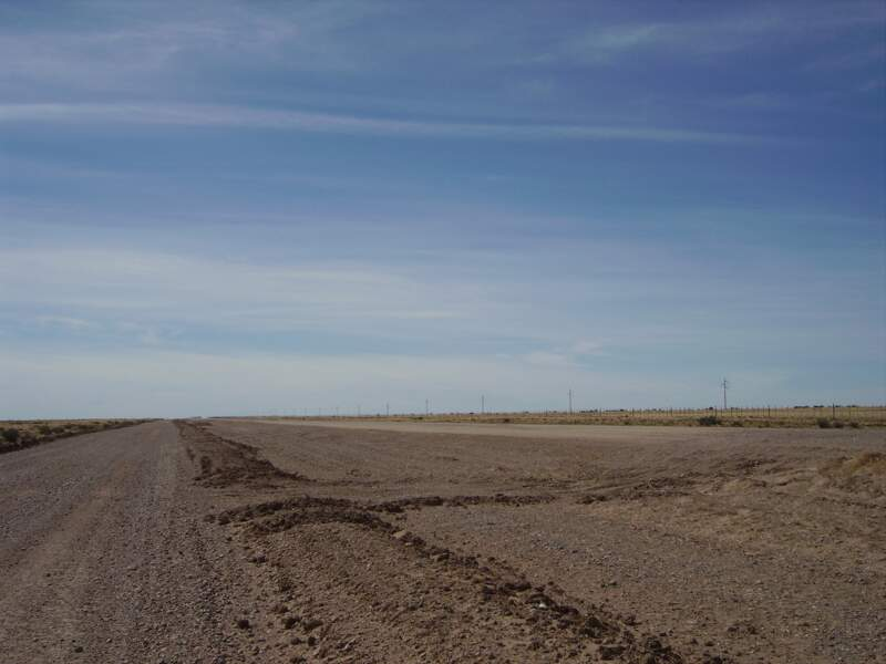 Sur 80 kilomètres de long, un paysage identique.