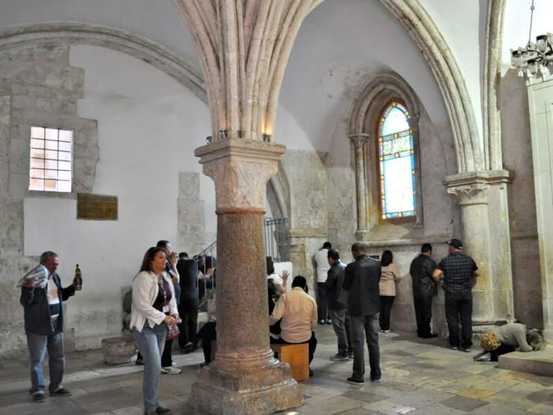 Le Cénacle est le lieu supposé où Jésus-Christ aurait pris son dernier dîner, entouré de ses apôtres, à Jérusalem (Israël).