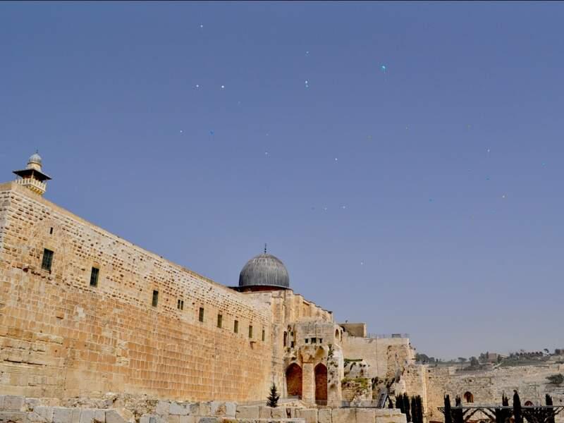 La mosquée Al-Aqsa, à Jérusalem, en Israël.