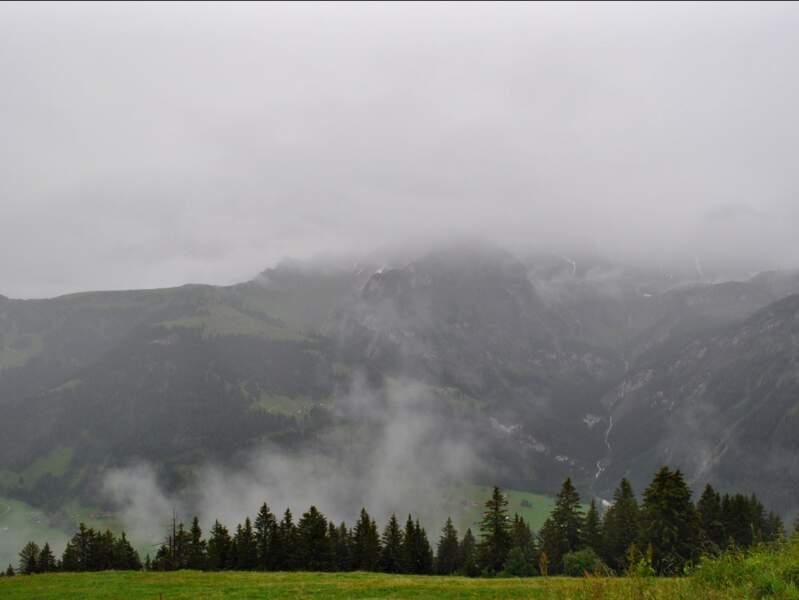 Paysage de l'Oberland bernois, en Suisse.