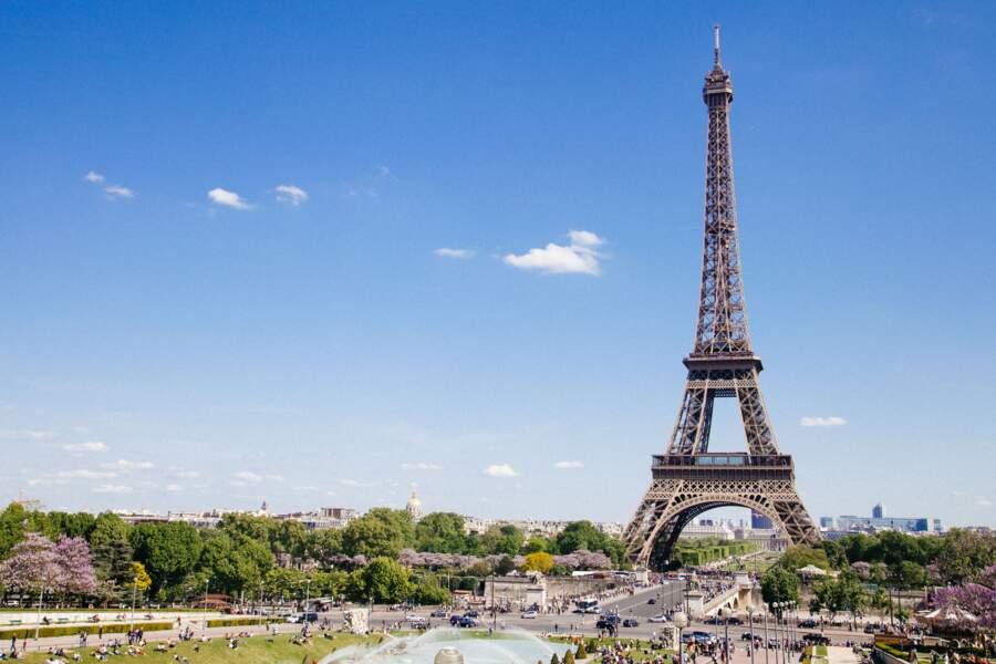 Monter en haut de la Tour Eiffel