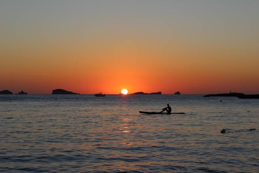 La plage de Cala Comte, à Ibiza