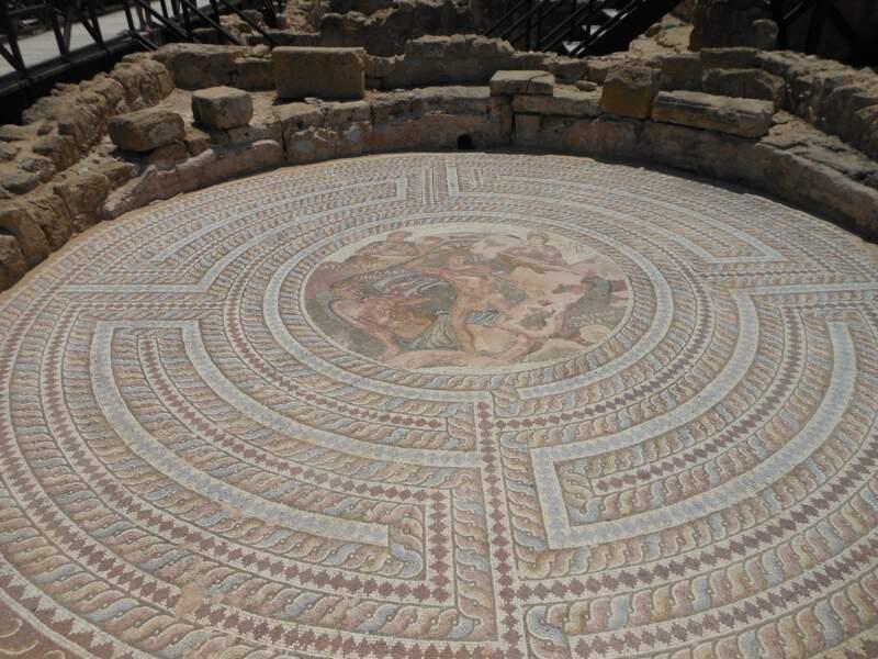 Les mosaïques de Paphos