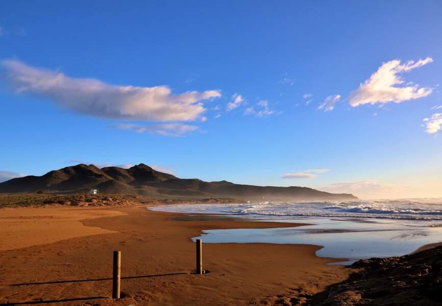 La plage de Calblanque