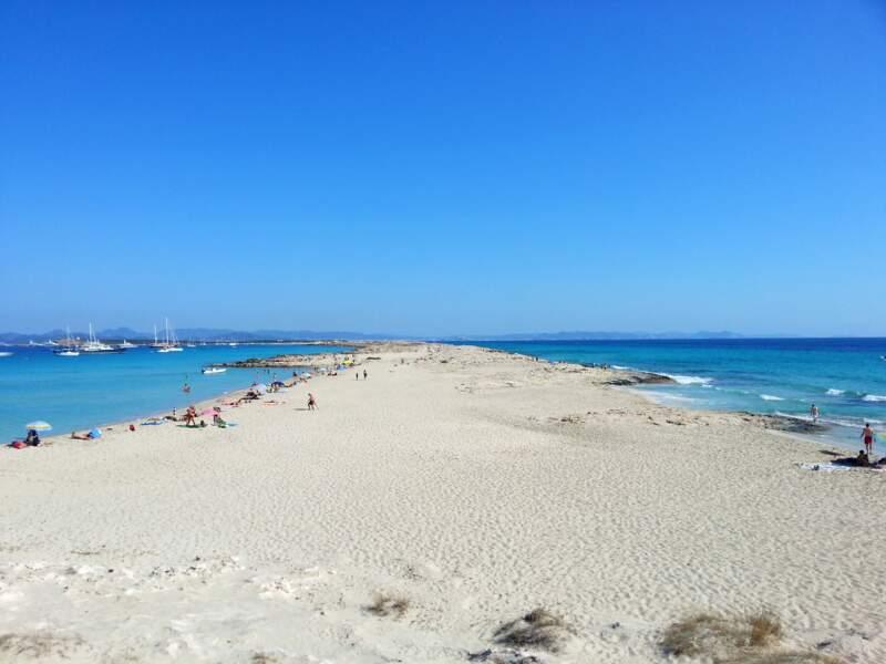 La plage de Ses Illetes, à Formentera