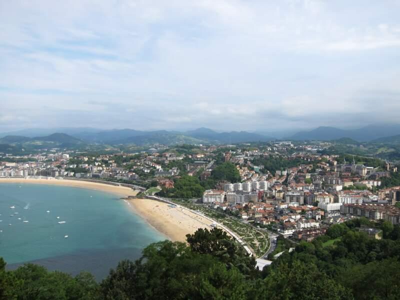 La plage de la Concha, à San Sebastian
