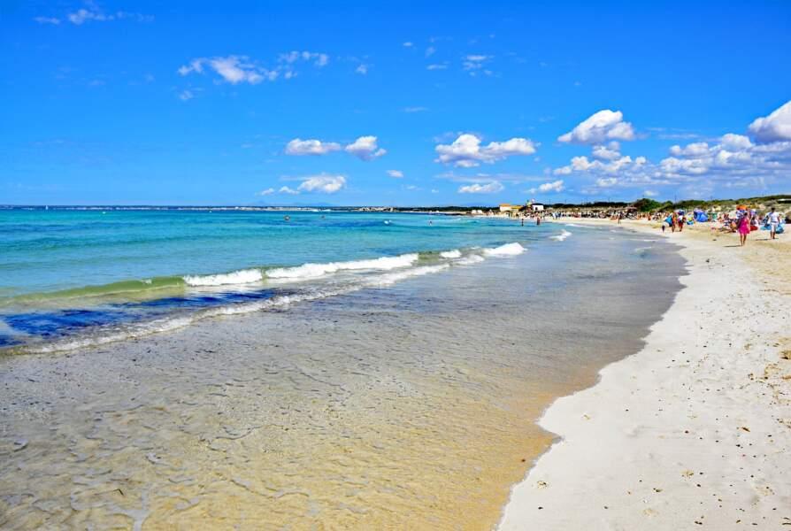 La plage Es Trenc, à Majorque
