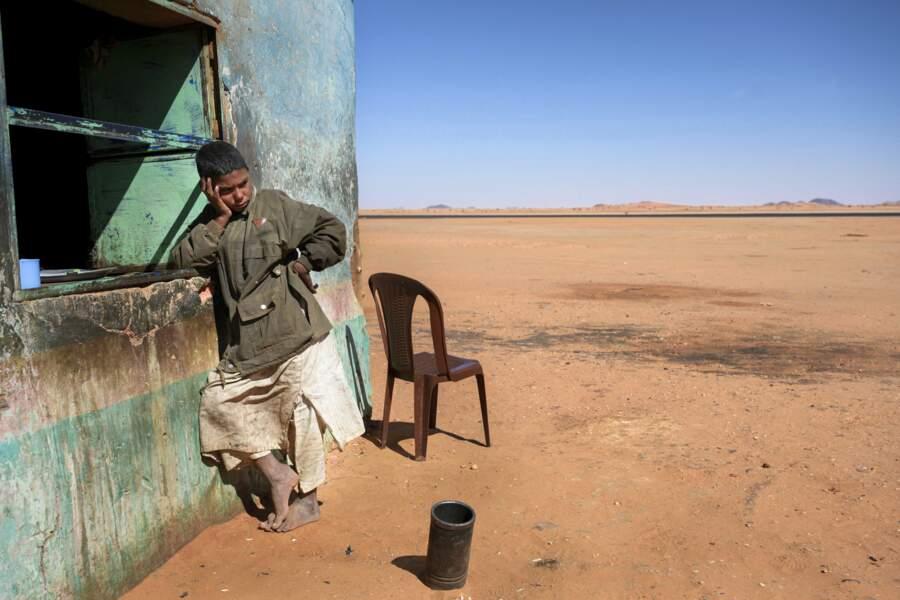 Un salon de thé dans le désert
